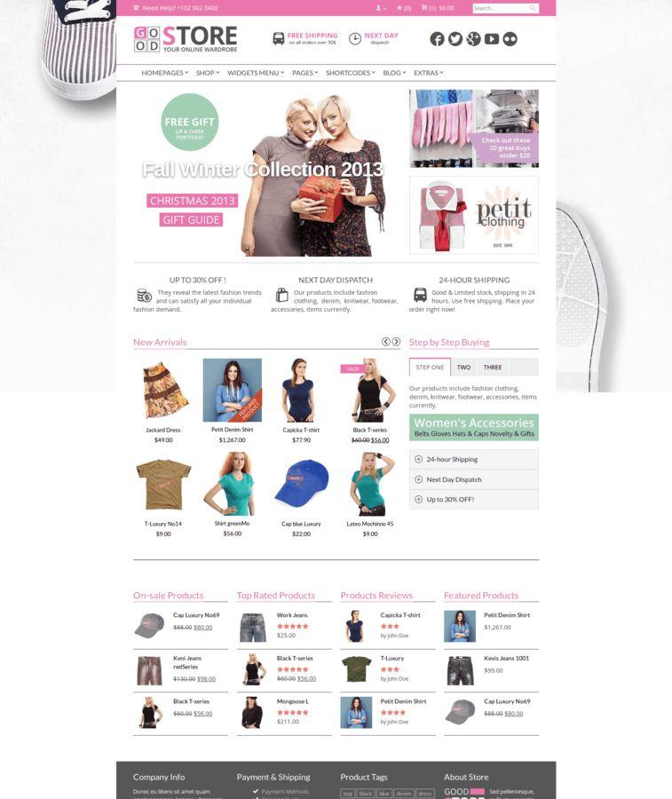 GoodStore - WooCommerce Theme Big Shop / Marketplace - Versatile Theme &  Modern