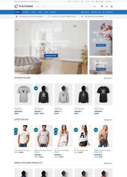 Flatsome - Premium Theme to Do Everything - WooCommerce Theme